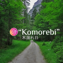 komorebi logo instagram